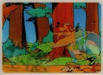 3D Lenticular POSTCARD - ASTERIX and OBELIX