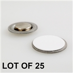 Round Magnet with Adhesive for Buttons Name Tags Lapel Pins