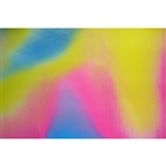 3D Fabric sheets - Multicolor: Yellow, Orange, Green