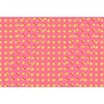 3D Lenticular sheets - Multicolor Butterflies Pink, Orange and Yellow