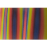 3D Fabric sheets - Multicolor: Red, Yellow, Green, Black