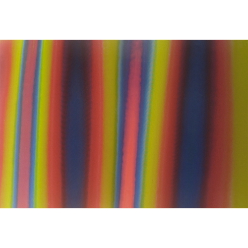 Lenticular Fabric sheets - Multicolor: Red, Yellow, Green, Black