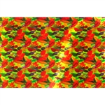 3D Lenticular Sheets Autumn Fall Leaves Falling Holiday Fabric
