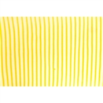 3D Lenticular Fabric sheets - Animated Yellow / White stripes