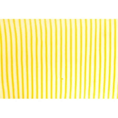 Lenticular Fabric sheets - Animated Yellow / White stripes
