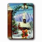3D Lenticular Magnet - GIRLS AT CHURCH/SNOW SSP-021-MAL