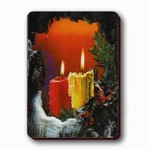 3D Lenticular Magnet - CandLES IN ROCK SSP-212-MAL