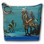 Lenticular Purse, 3D Lenticular Images, The Three Wise Man, The Three Kings, SSP-365-Pavia