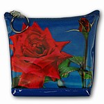 Lenticular Purse, 3D Lenticular Images,The 3-D Red Rose for The Lover, SSP-438-Pavia