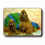 3D Lenticular COOCKER SHEEP Dog - Magnet TP-216-MAL