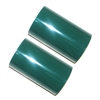 Hot Foil Stamp Rolls Dark Green